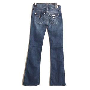 Hudson midrise signature bootcut Denim Jeans